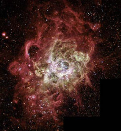 Star-birth Region in Spiral Galaxy M33