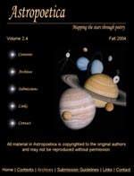 Volume 2.4: Fall, 2004/Solar System Themed Issue