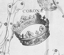 Corona Borealias, the Northern Crown